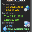 Atomic Clock 2.5 full screenshot