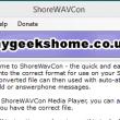 ShoreWAVConv 4.4 full screenshot