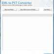 Extract EML files into Outlook PST 7.4.2 full screenshot