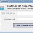 Softaken Hotmail Backup 1.0 full screenshot
