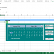Pop-up Excel Calendar / Excel Date Picke 2.24 full screenshot