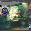 Krita 4.1.5 full screenshot