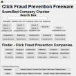 Click Fraud Prevention 1.0 full screenshot