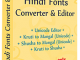 Hindi Fonts Converter and Editor 7.1.5.26 full screenshot