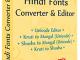 Hindi Fonts Converter and Editor 7.1.5.26 full screenshot