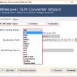 Mac OLM to Zimbra Converter 2.3 full screenshot