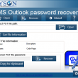 Aryson Outlook Password Recovery 18.0 full screenshot