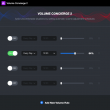 Volume Concierge 2.0.10 full screenshot