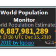 World Population Monitor 4.1 full screenshot