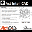 Act Intellicad Standard 32 Bit 9.0 full screenshot
