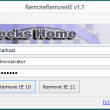 RemoteRemoveIE 1.1 full screenshot