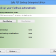 Safe PST Backup for Microsoft Outlook 2.72 full screenshot