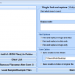 Find and Replace In Multiple JSON Files Software 7.0 full screenshot