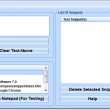 Paste Snippets In Applications Software 7.0 full screenshot
