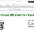 PrecisionID QR-Code Barcode Fonts 2018 full screenshot