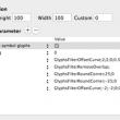 Glyphs for Mac OS X 2.6.3 B1270 full screenshot