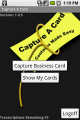 Capture A Card-Android 1.0 full screenshot