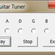 Guitar Tuner 1.02 full screenshot
