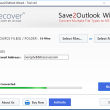 Convert DOC to Outlook PST 4.0 full screenshot