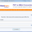 DataVare PST to EMLX Converter Expert 1.0 full screenshot