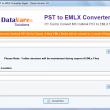 DataVare PST to EMLX Converter Expert 1.0 full screenshot