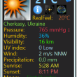 Weather Monitor 9.8 full screenshot