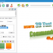 Insofta 3D Text Commander 5.0.0 full screenshot