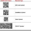 2D Universal Barcode Font and Encoder 20.02 full screenshot
