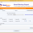 DataVare Gmail Backup Expert 1.0 full screenshot
