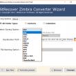Zimbra Converter Wizard 6.0 full screenshot
