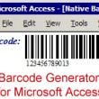 Access Linear Barcode Generator 19.09 full screenshot