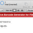 USPS IMb Filemaker Barcode Generator 16.12 full screenshot