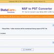 Datavare NSF to PST Converter 1.0 full screenshot