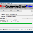 NonCompressibleFiles 2.77 full screenshot