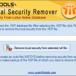 SysInfoTools NSF Local Security Remover 1.0 full screenshot