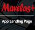Marvelas+ - Responsive Bootstrap App Landing Page 1 full screenshot