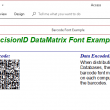 PrecisionID Data Matrix Barcode Fonts 2018 full screenshot