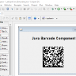 Java GS1 Data Matrix Barcode Package 21.05 full screenshot
