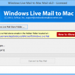 Move Windows Mail to Entourage Mail 7.2.6 full screenshot