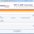 DataVare PST to NSF Converter Expert 1.0 full screenshot
