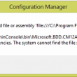 CM2012 Console MDT Integration Error Fix 1.1 full screenshot