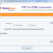 DataVare PST to HTML Converter Expert 1.0 full screenshot