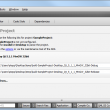 Qt Creator for Mac OS X 3.0.0 RC 1 full screenshot