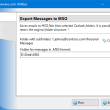 Export Messages to MSG for Outlook 4.17 full screenshot