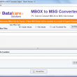 DataVare MBOX to MSG Converter Expert 1.0 full screenshot