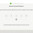 Phoenix File Rescue 1.31 full screenshot