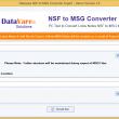 Datavare NSF to MSG Converter 1.0 full screenshot