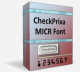 CheckPrixa MICR E13B Font 1.26 full screenshot