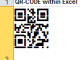 QR Code | Data Matrix 2D Font for Excel 15.10 full screenshot