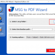 Read Outlook MSG File to PDF 3.0 full screenshot